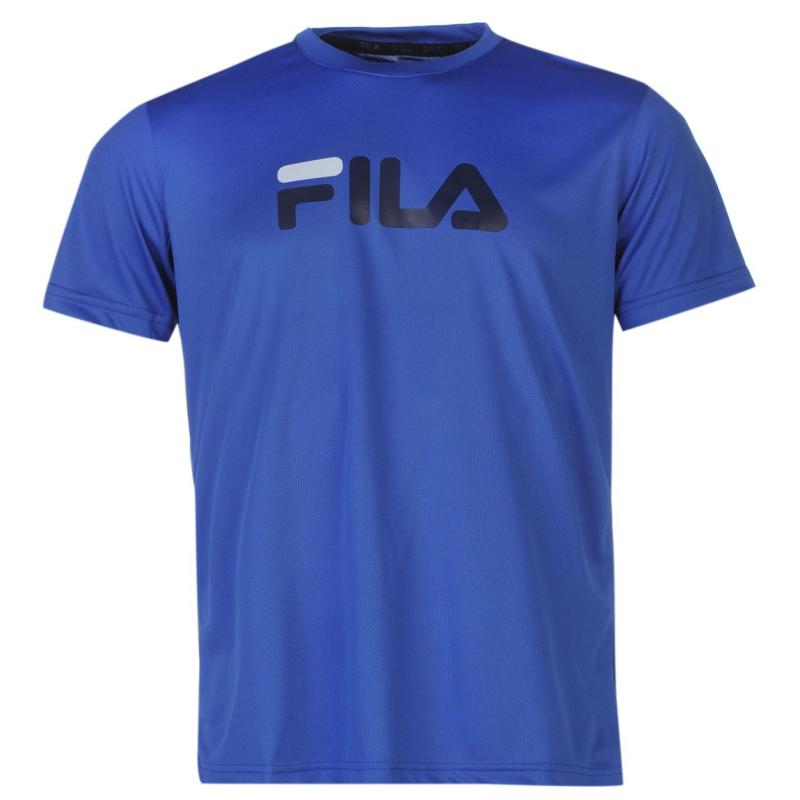 Tričko Fila Logo T Shirt Junior Boys Blue