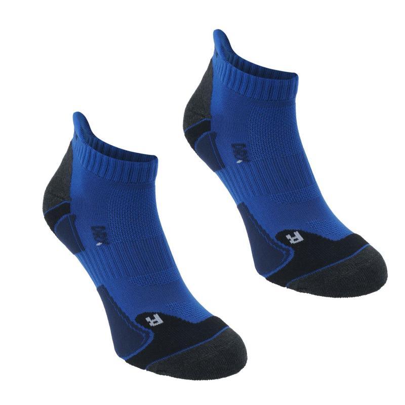 Ponožky Karrimor 2 Pack Running Socks Mens Blue/Navy