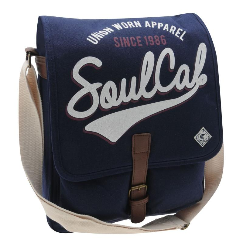 SoulCal Messenger Bag Navy