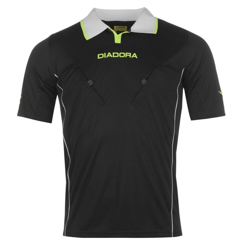 Diadora Montreal Refree Shirt Mens Black