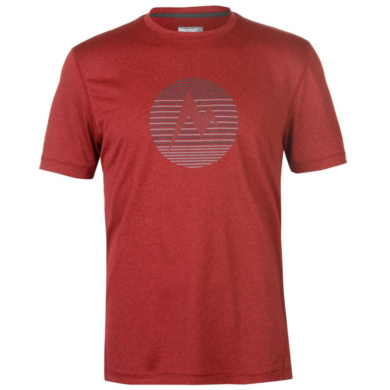 Marmot Transport T Shirt Mens Team Red
