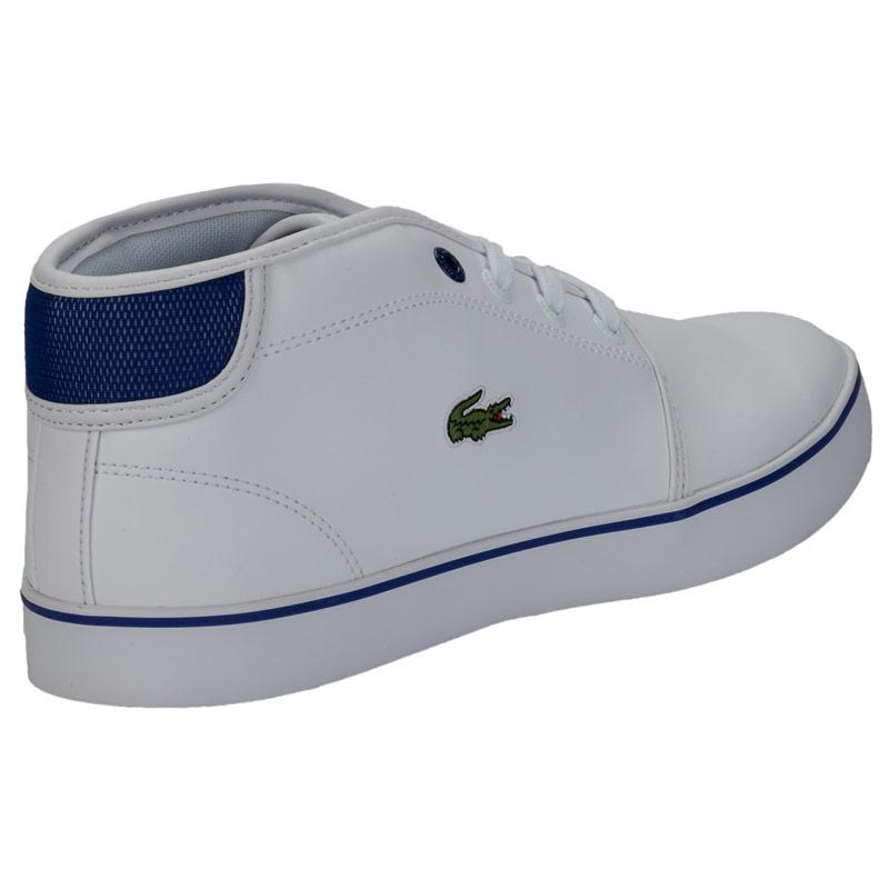 Boty Lacoste Junior Boys Ampthil Trainers White