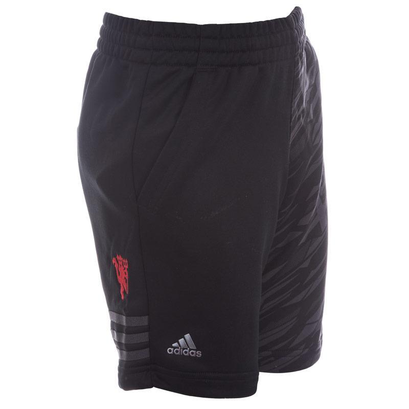 Kraťasy Adidas Performance Junior Boys Manchester United Shorts Black