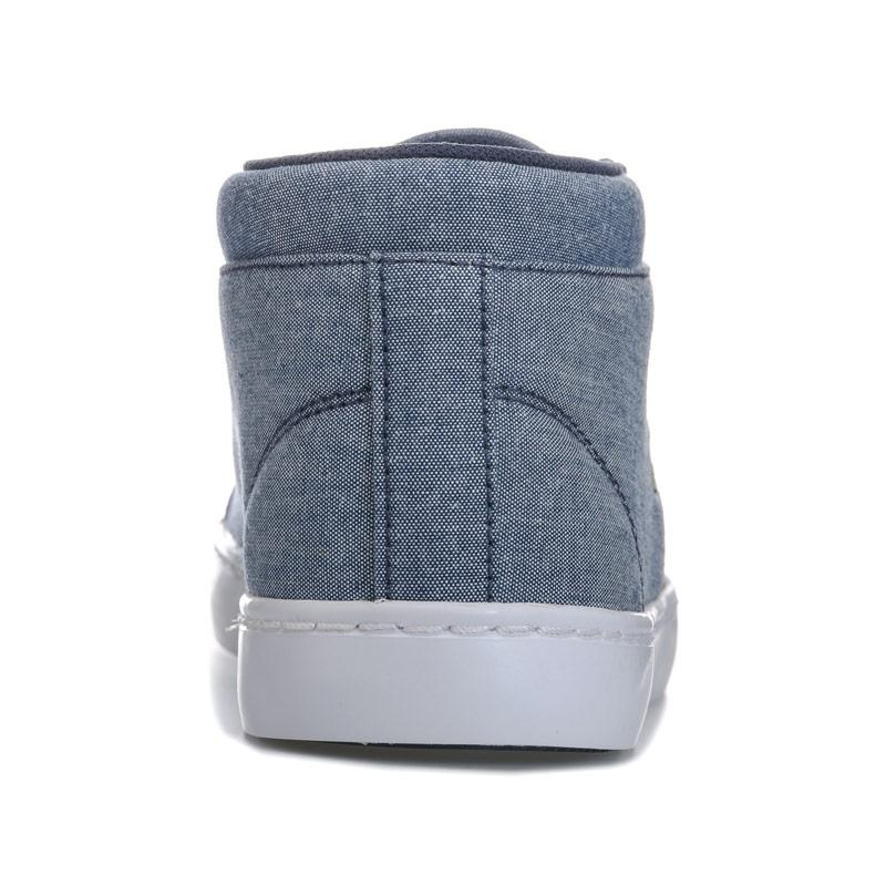 Boty Lacoste Junior Boys Straight Set Chukka Trainers Navy
