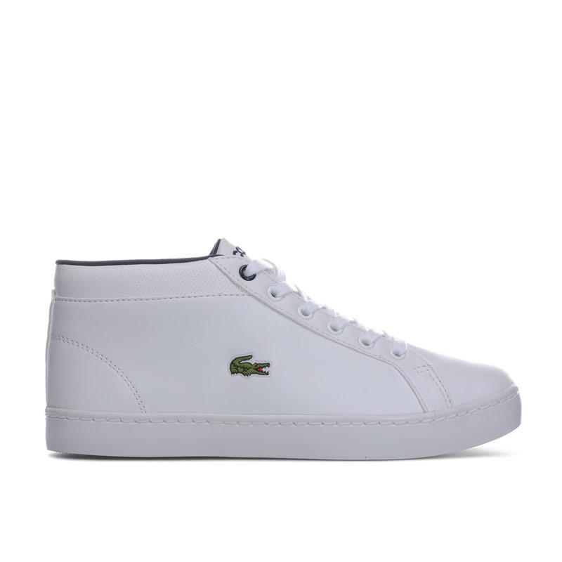 Boty Lacoste Junior Boys Straight Set Chukka Trainers White