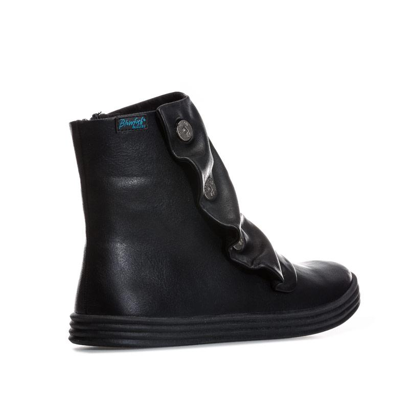 Blowfish Malibu Womens Rabbit Old Saddle Boots Black