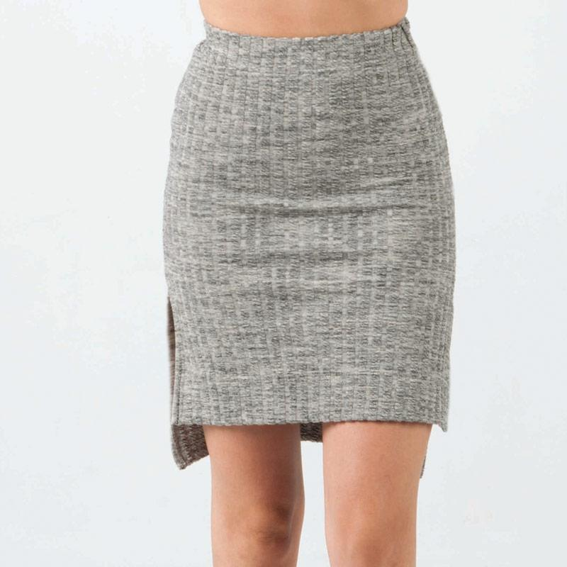 Sukně NICCE Womens Rib Skirt Grey