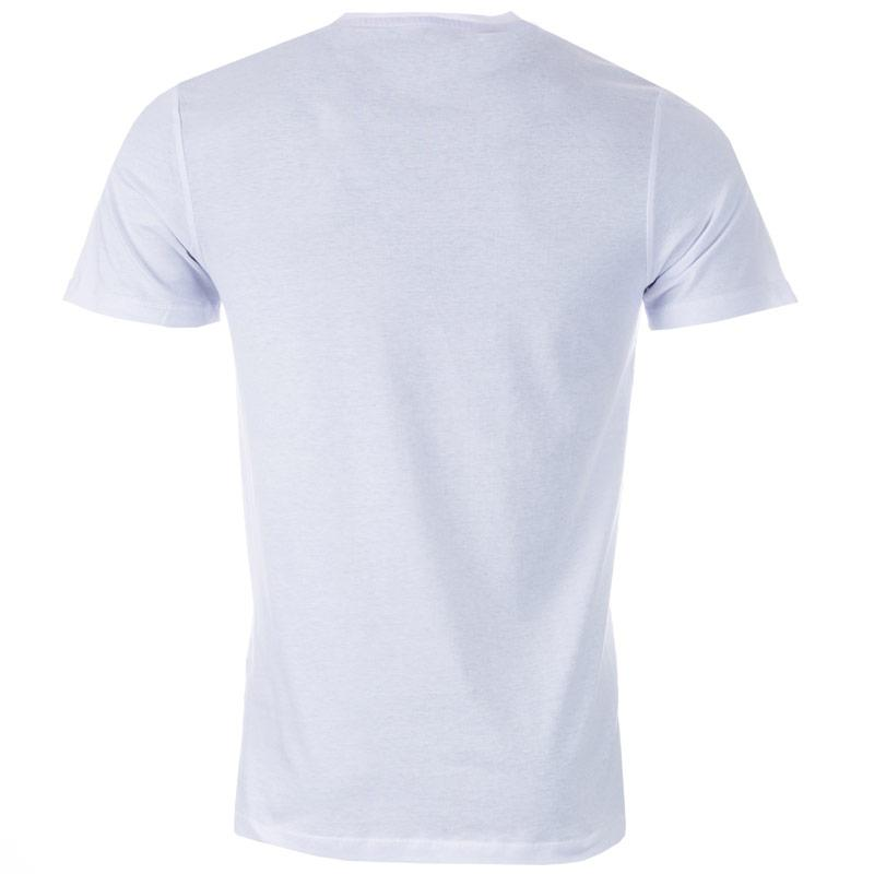 Tričko Jack Jones Mens Booster 6 T-Shirt White