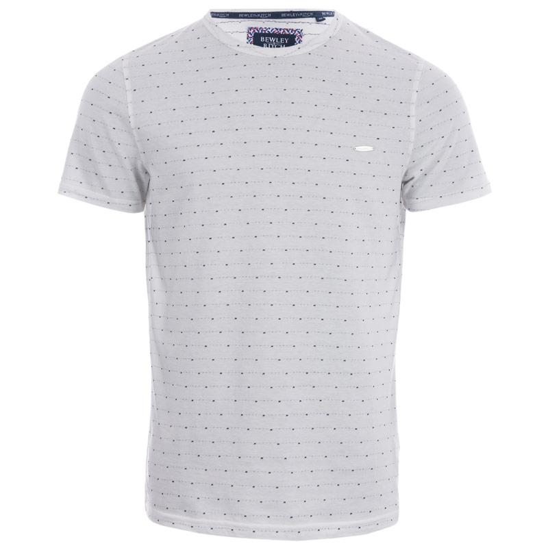 Tričko Bewley And Ritch Mens Este T-Shirt White