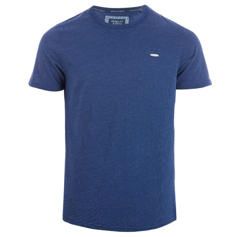 Tričko Bewley And Ritch Mens Haider T-Shirt Blue