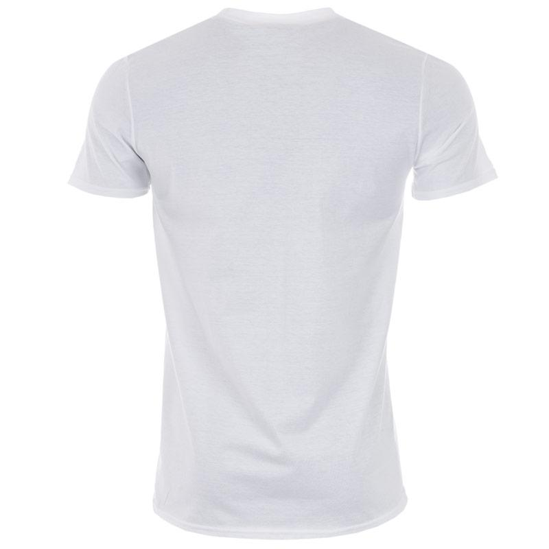 Tričko Get The Label Mens Marvel Character T-Shirts White