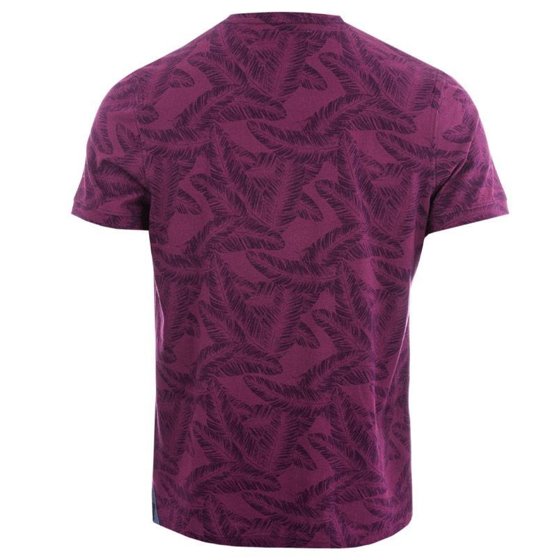 Tričko Bewley And Ritch Mens Olaf T-Shirt Purple