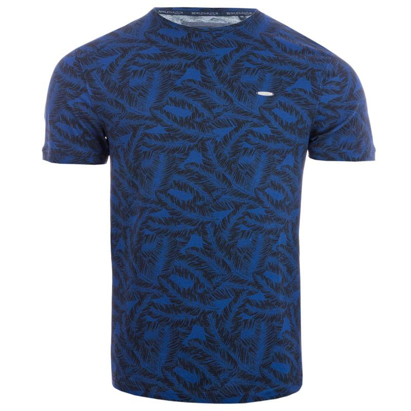 Tričko Bewley And Ritch Mens Olaf T-Shirt Blue