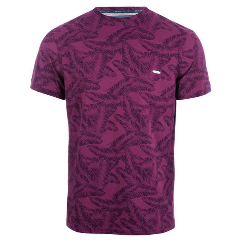 Tričko Bewley And Ritch Mens Olaf T-Shirt Purple