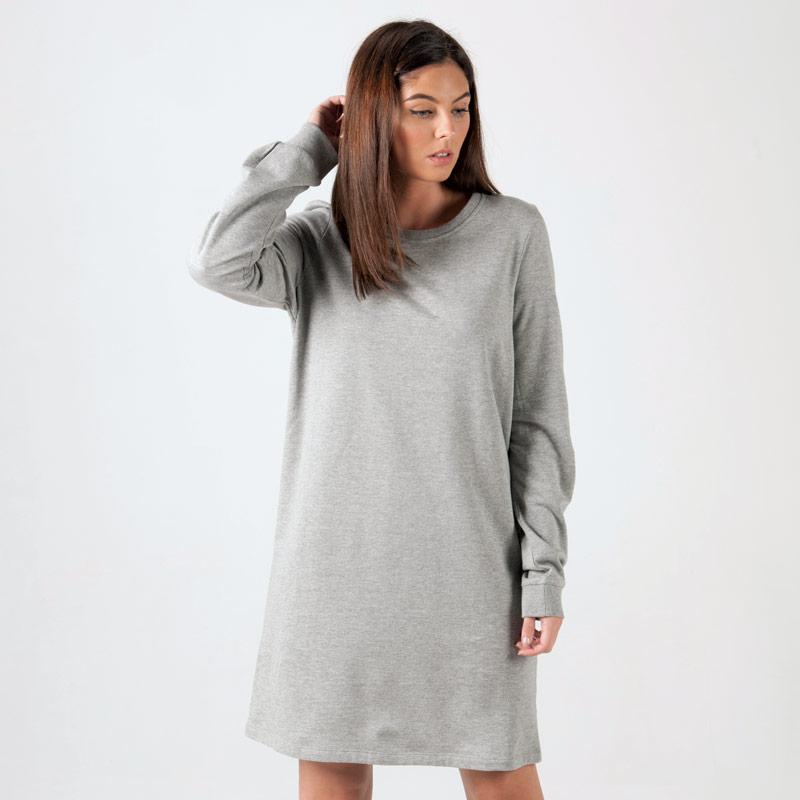 Šaty Vero Moda Womens Serena Dress Grey Marl
