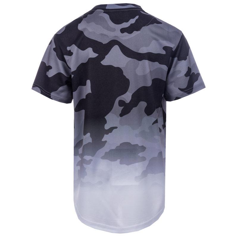 Tričko Beck And Hersey Junior Boys Sub Camo T-Shirt White