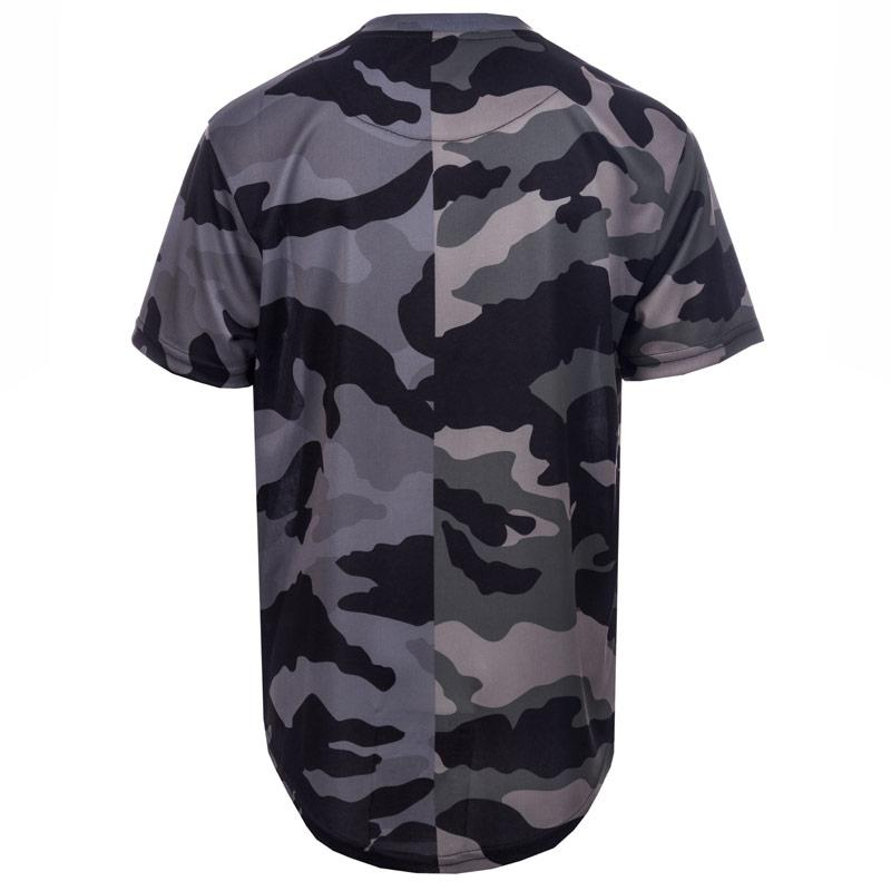 Tričko Beck And Hersey Junior Boys Sub Mix Camo T-Shirt Camo