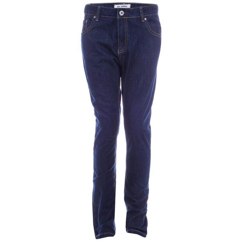 Kalhoty Ben Sherman Infant Boys Slim Fit Jeans Blue
