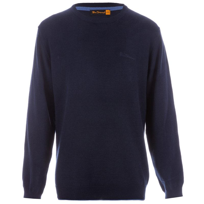 Ben Sherman Infant Boys Knitted Jumper Navy