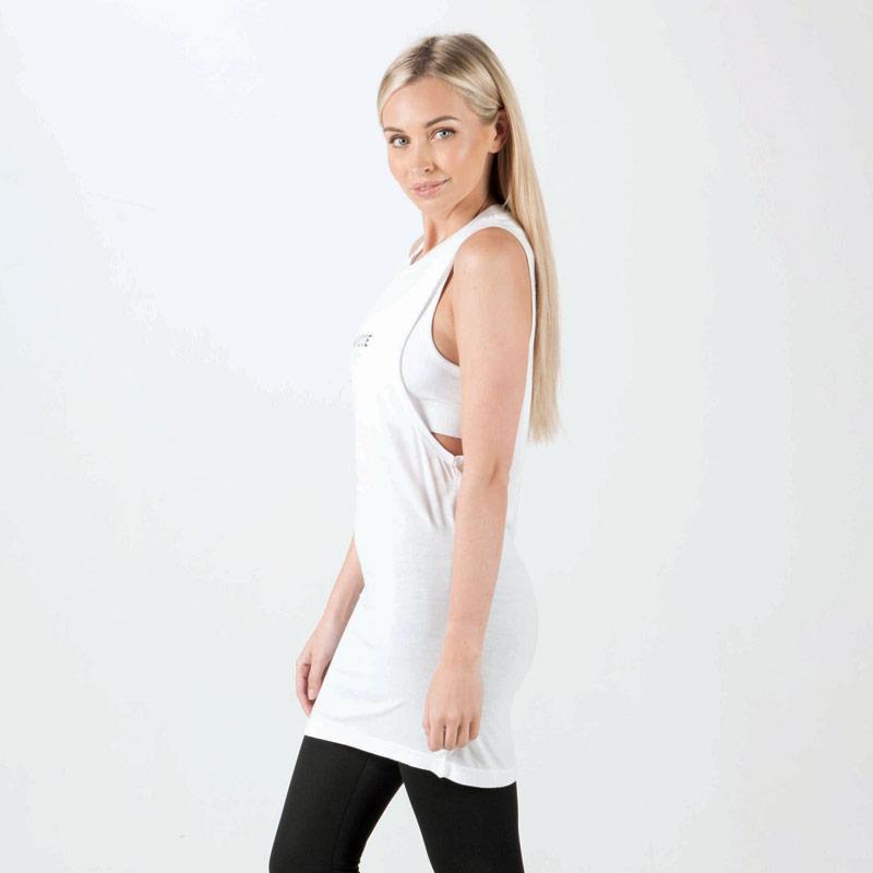 NICCE Womens Dropped Armhole Vest White
