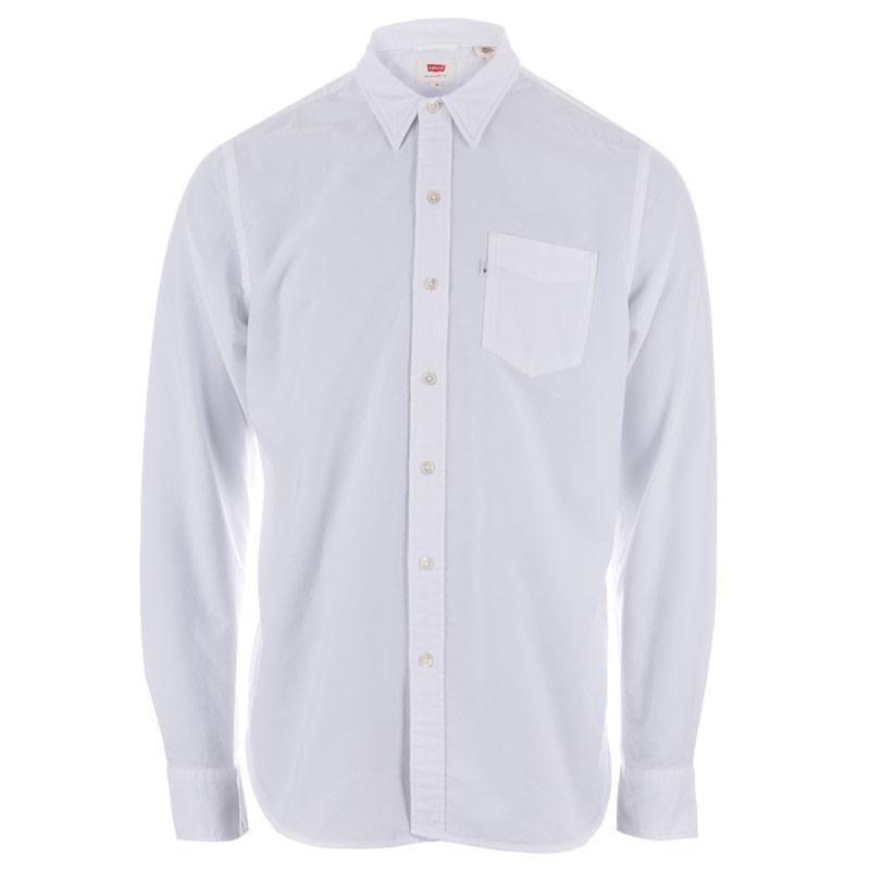 Levis Mens Sunset Pocket Shirt White