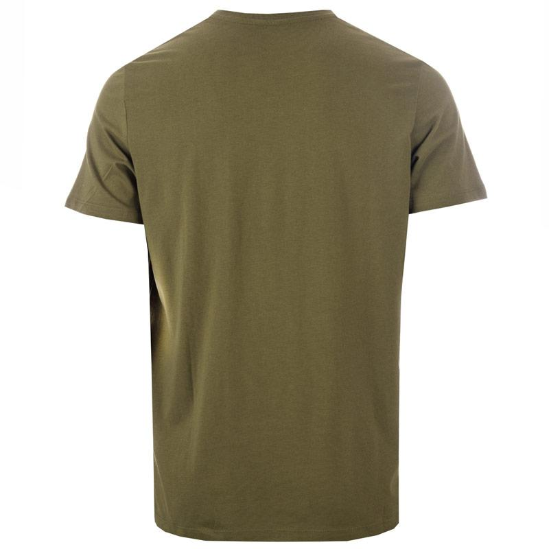 Tričko Jack Jones Mens Com T-Shirt olive