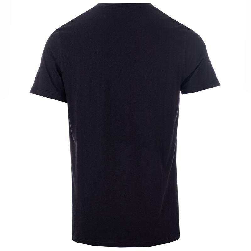 Tričko Jack Jones Mens Optical T-Shirt Black