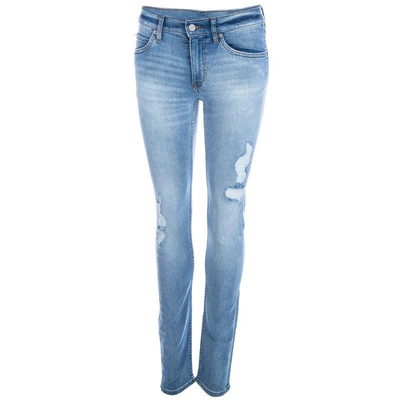 Cheap Monday Womens Brilliant Blue Jeans Light Blue