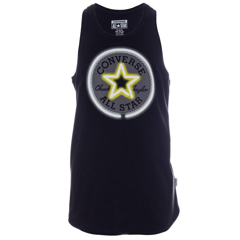 Converse Infant Girls Neon Chuck Patch Vest Black