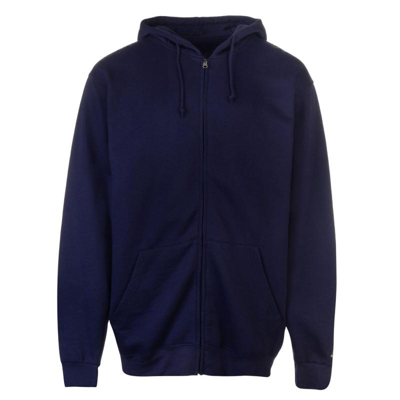 Mikina Russell Athletic Full Zipped Hoody Mens Navy
