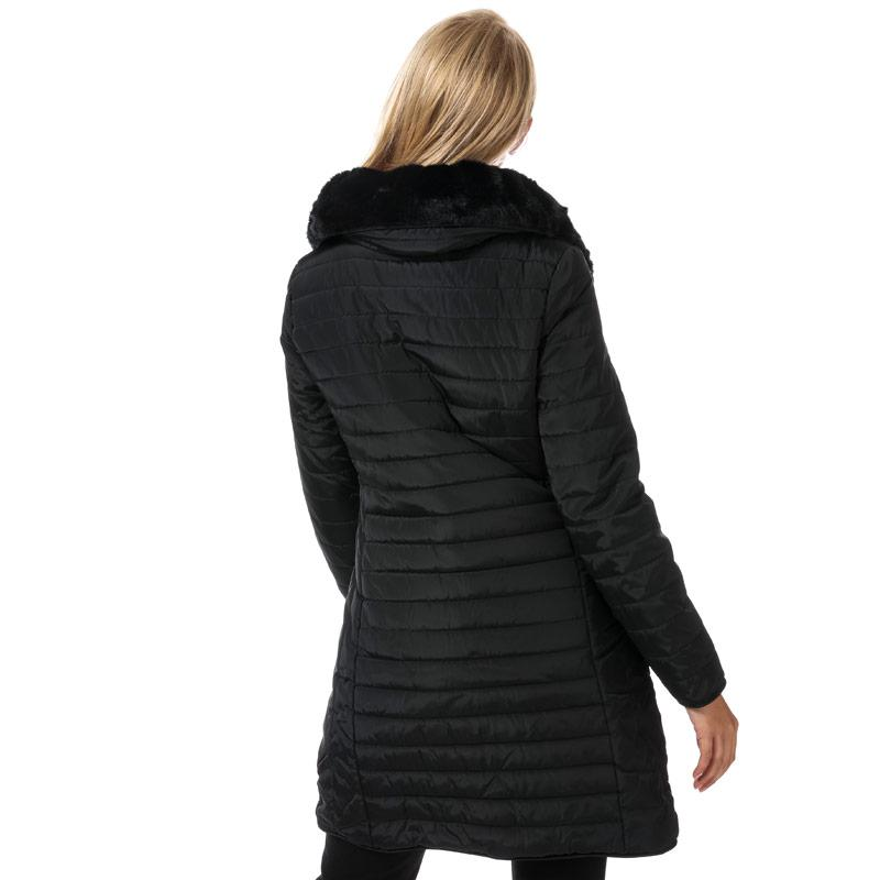 Elle Womens Florence Coat Black