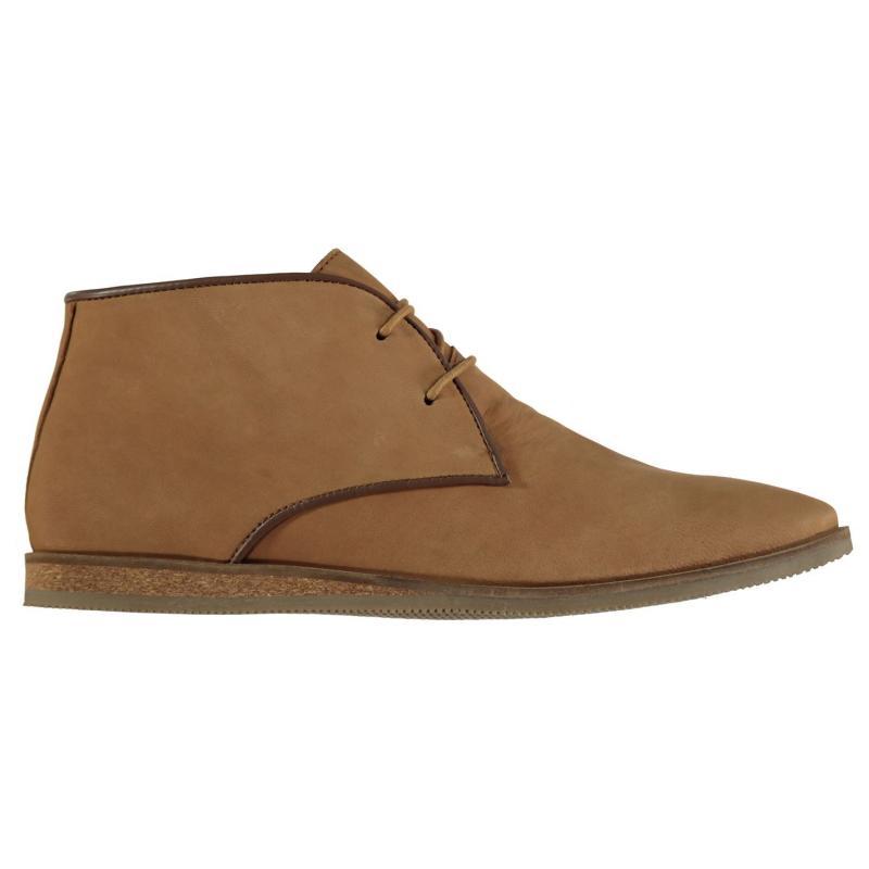 Boty Frank Wright Cuckoo Boots Tan