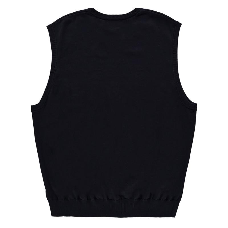Mikina Fusion V Neck Vest Sweatshirt Mens Port Heather