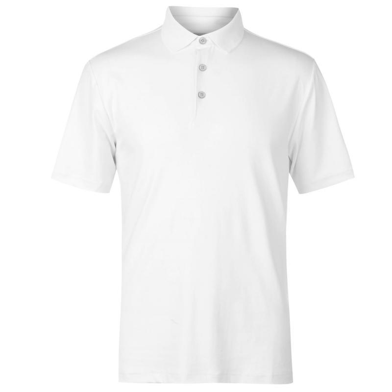 Ashworth Matt Golf Polo Mens White