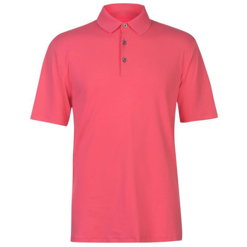 Ashworth Matt Golf Polo Mens Crystal Blue