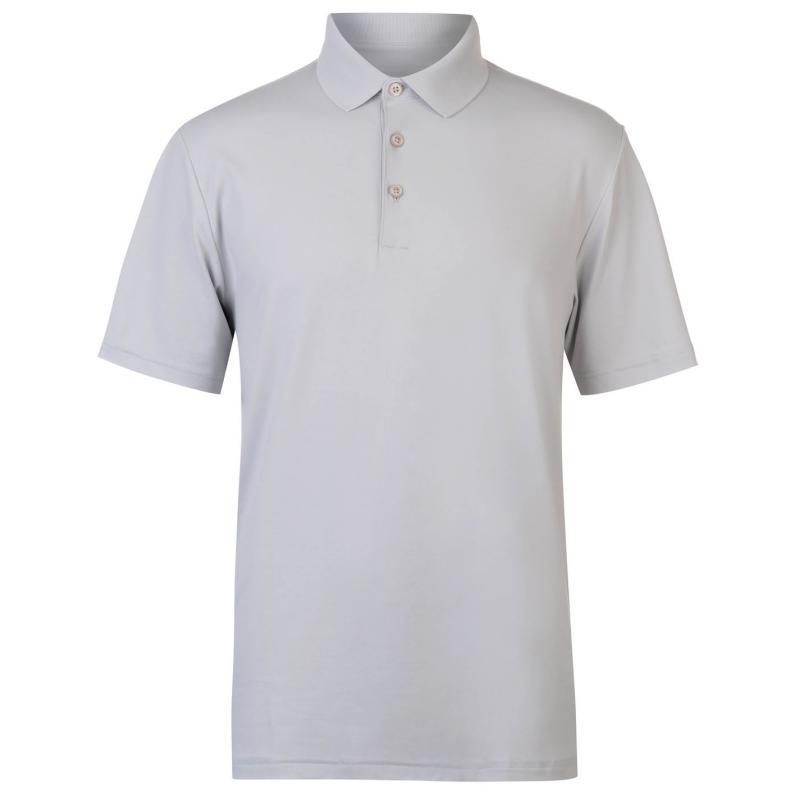 Ashworth Matt Golf Polo Mens Pebble
