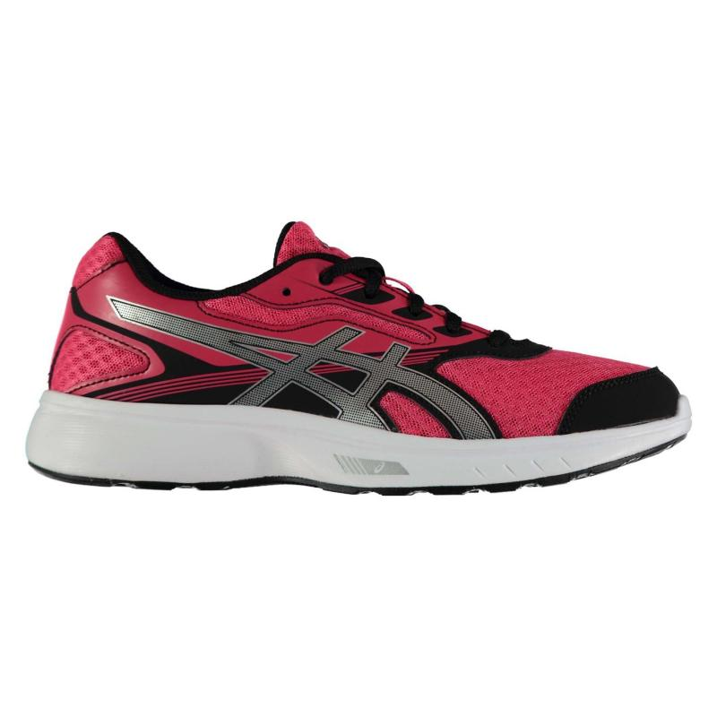 Asics Stormer Ladies Trainers Grey/Pink