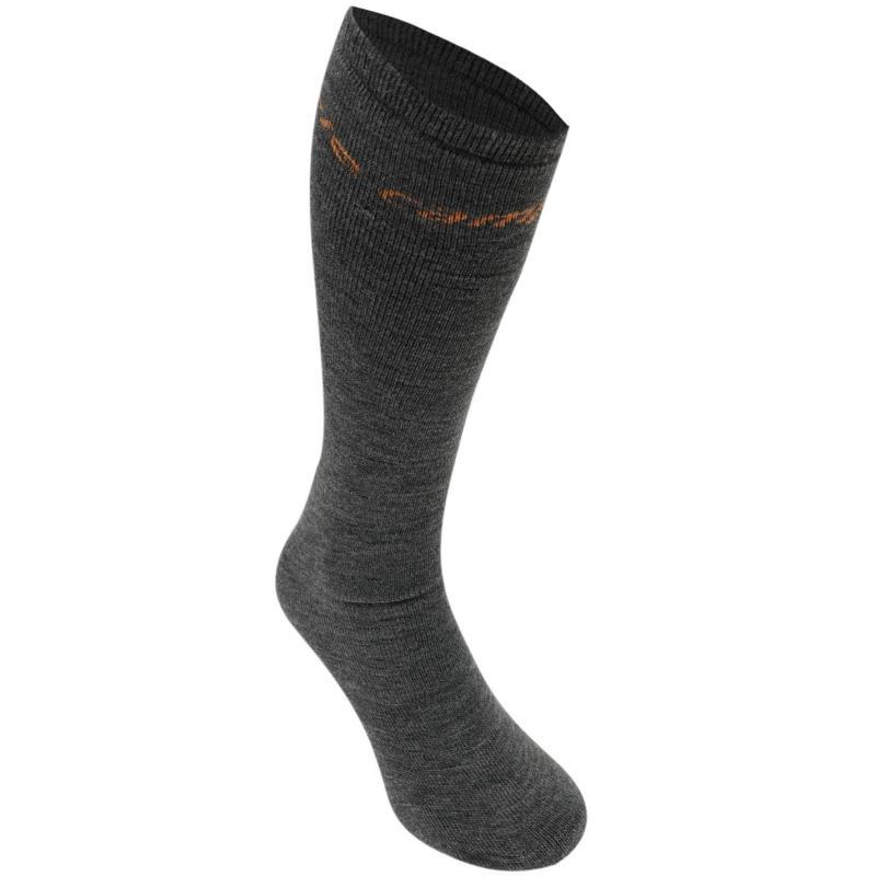 Ponožky Campri Ski Tube 2 Pack Mens Black