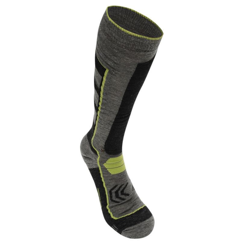 Ponožky Nevica Extreme Ski Socks 1 Pack Mens Black/Orange