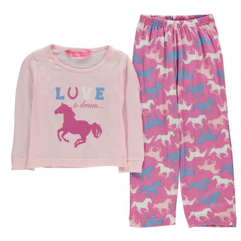 Platinum Pyjamas Infant Girls Pink