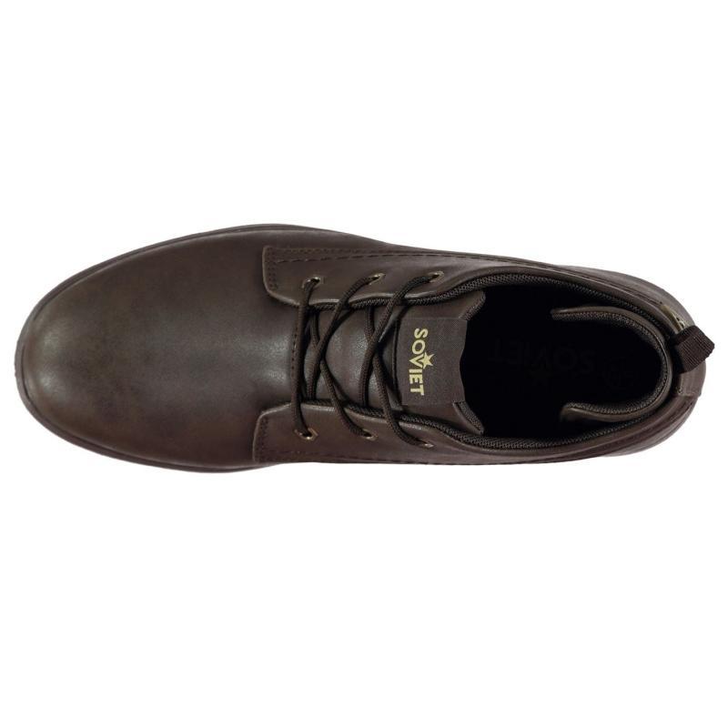 Boty Soviet Compton Chukka Boots Mens Brown