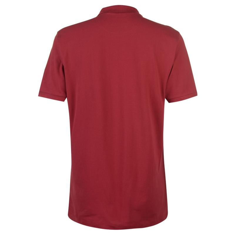 Pierre Cardin Panel Polo Shirt Mens Red