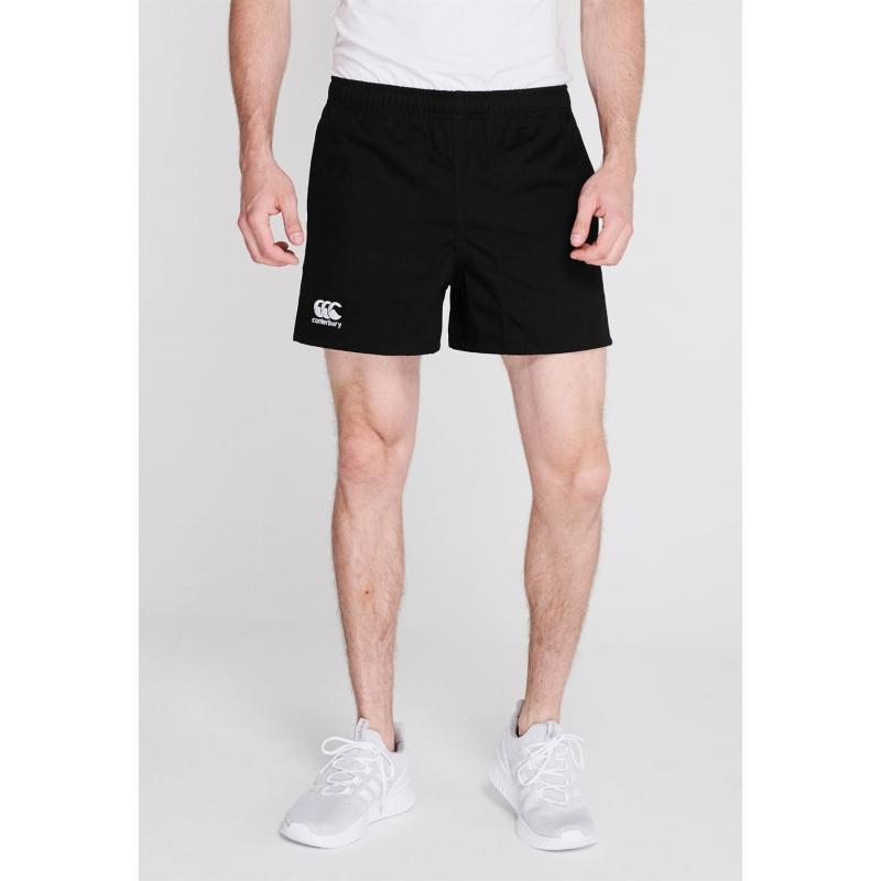 Canterbury Pro Rugby Shorts Mens Black