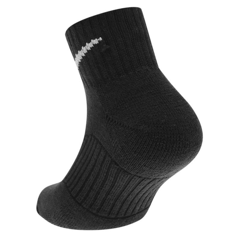 Ponožky Nike 3 Pack Quarter Socks Junior Black/White