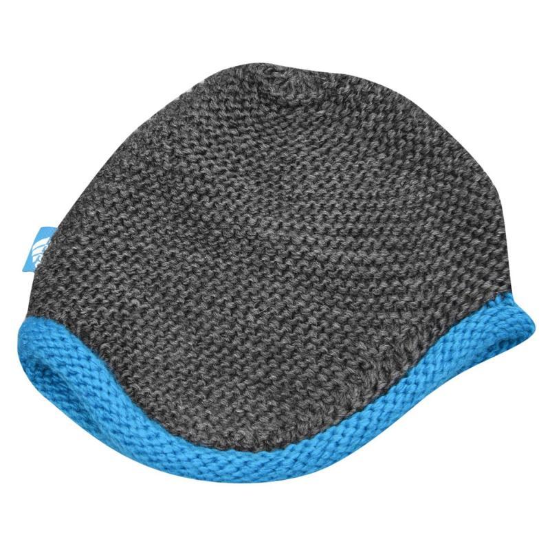 Adidas Knit Beanie Infants Grey/Navy