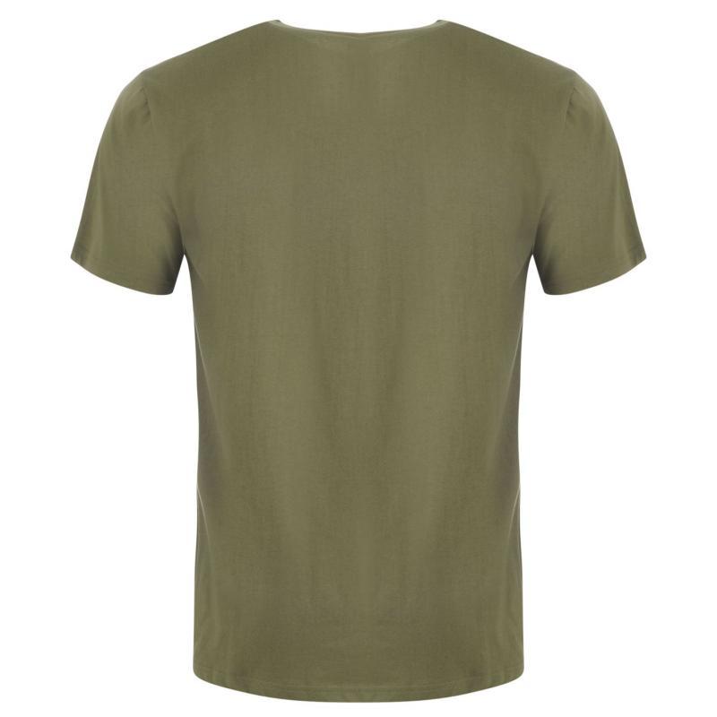 Tričko DC Startra T Shirt Mens Green