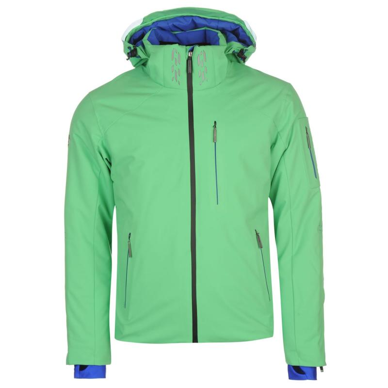 Descente Snowfuse Ski Jacket Mens Cgrn Green