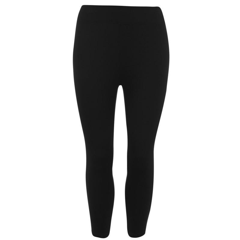 Legíny Miso High Waist Capri Leggings Ladies Black