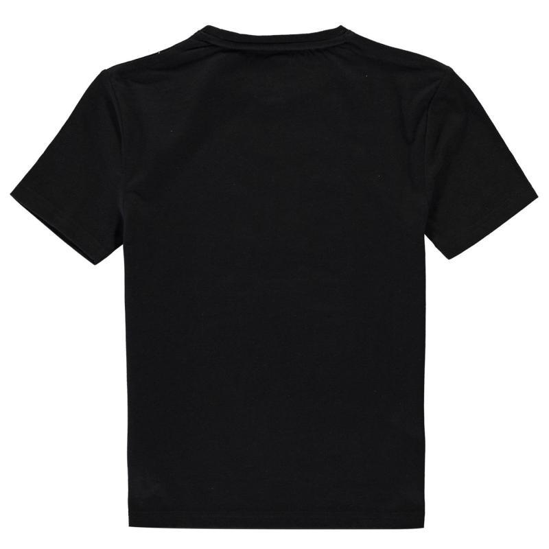 Tričko Team Rangers Crest T Shirt Infant Boys Black