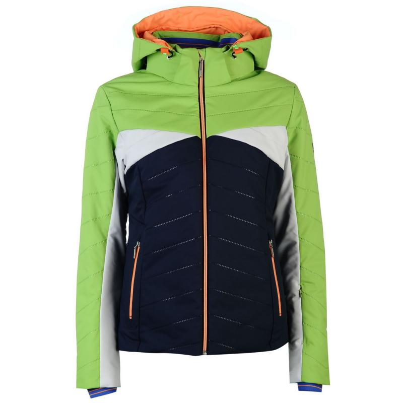 Descente Olivia D7 9348 Ski Jacket Ladies Green/Navy